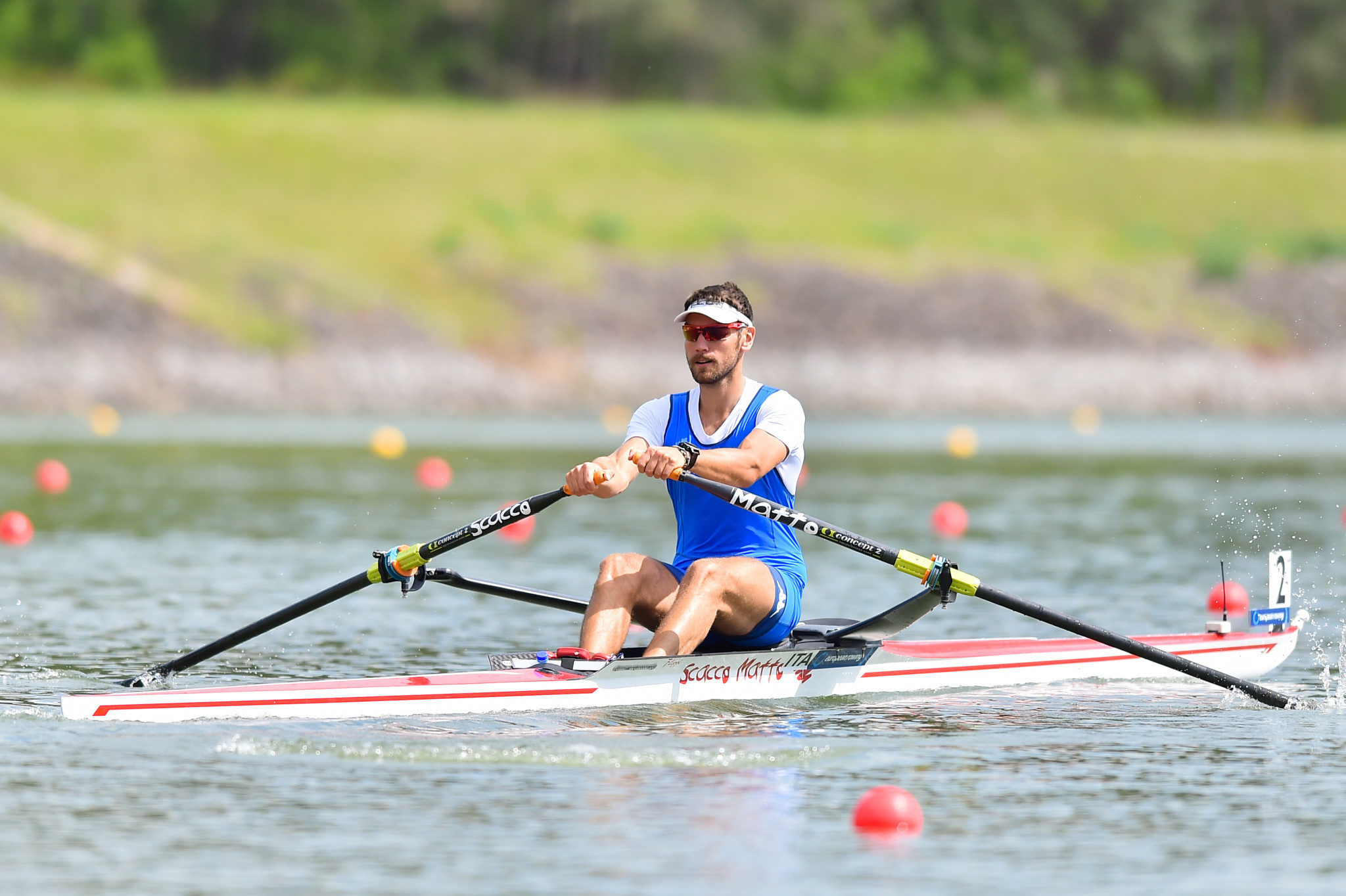 Italy's Martini wins men's solo gold at World Rowing Coastal Championships
