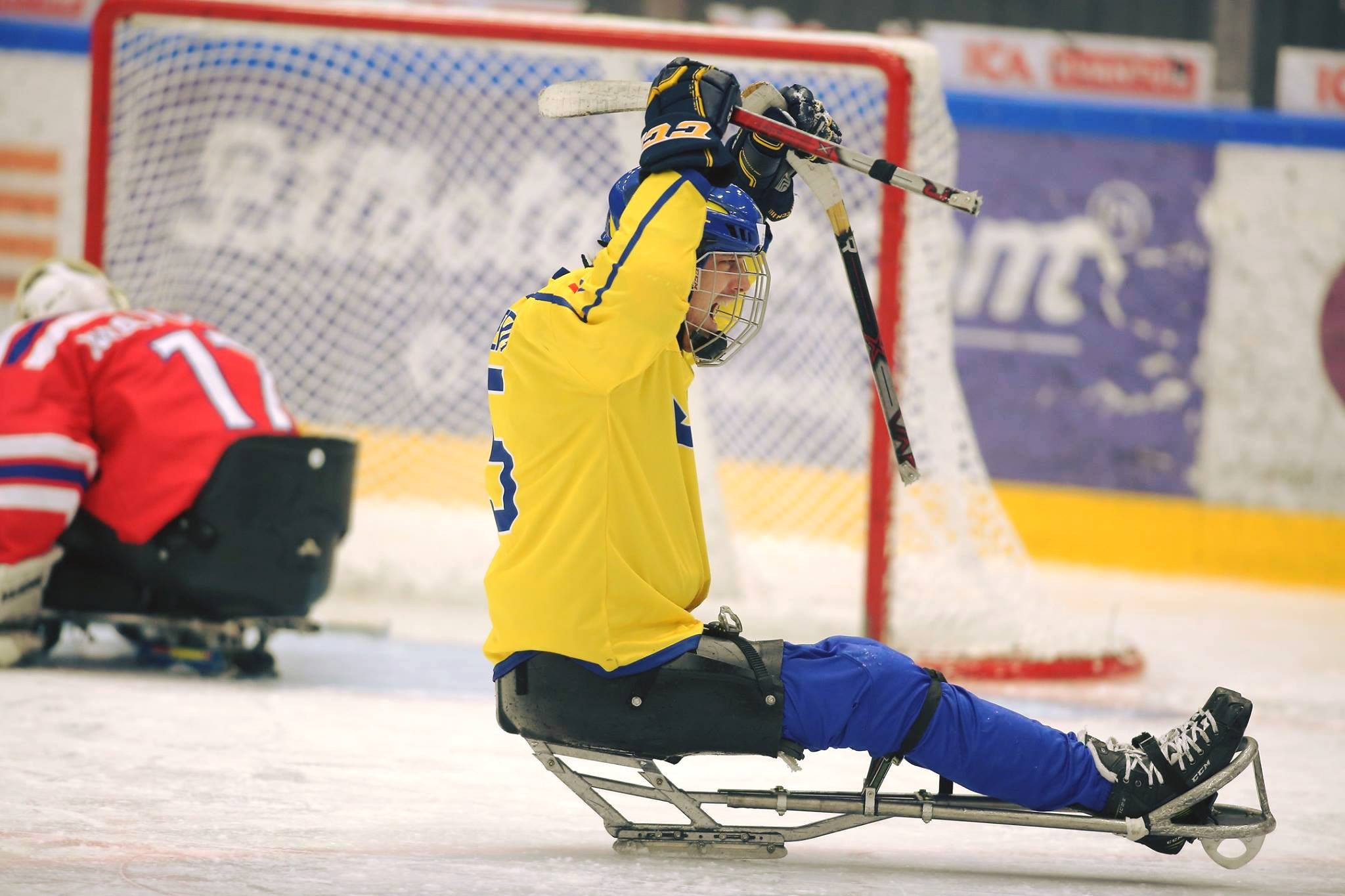 Sweden beat Germany to qualify for Pyeongchang 2018 Para ice hockey tournament