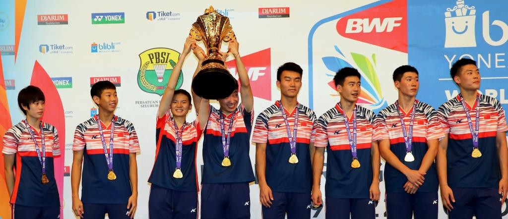 China defend mixed team title at BWF World Junior Championships