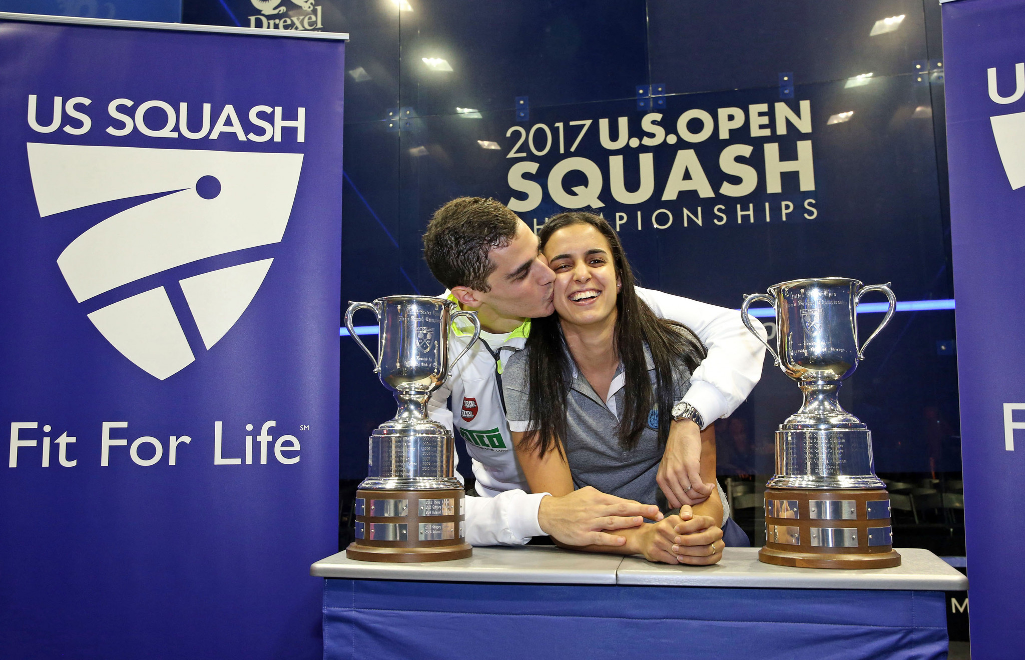 Husband and wife seal PSA US Open titles to write names into sporting history