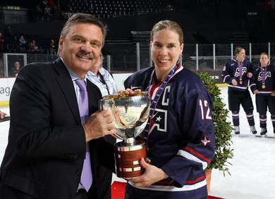 American legend Potter appointed head coach of Slovakian women's national ice hockey team