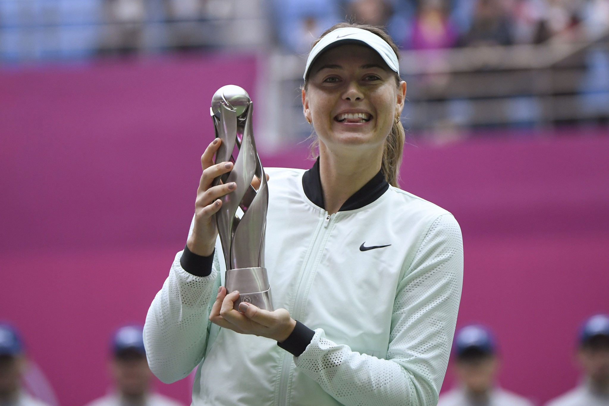 Maria Sharapova has won her first title since May 2015 ©Getty Images