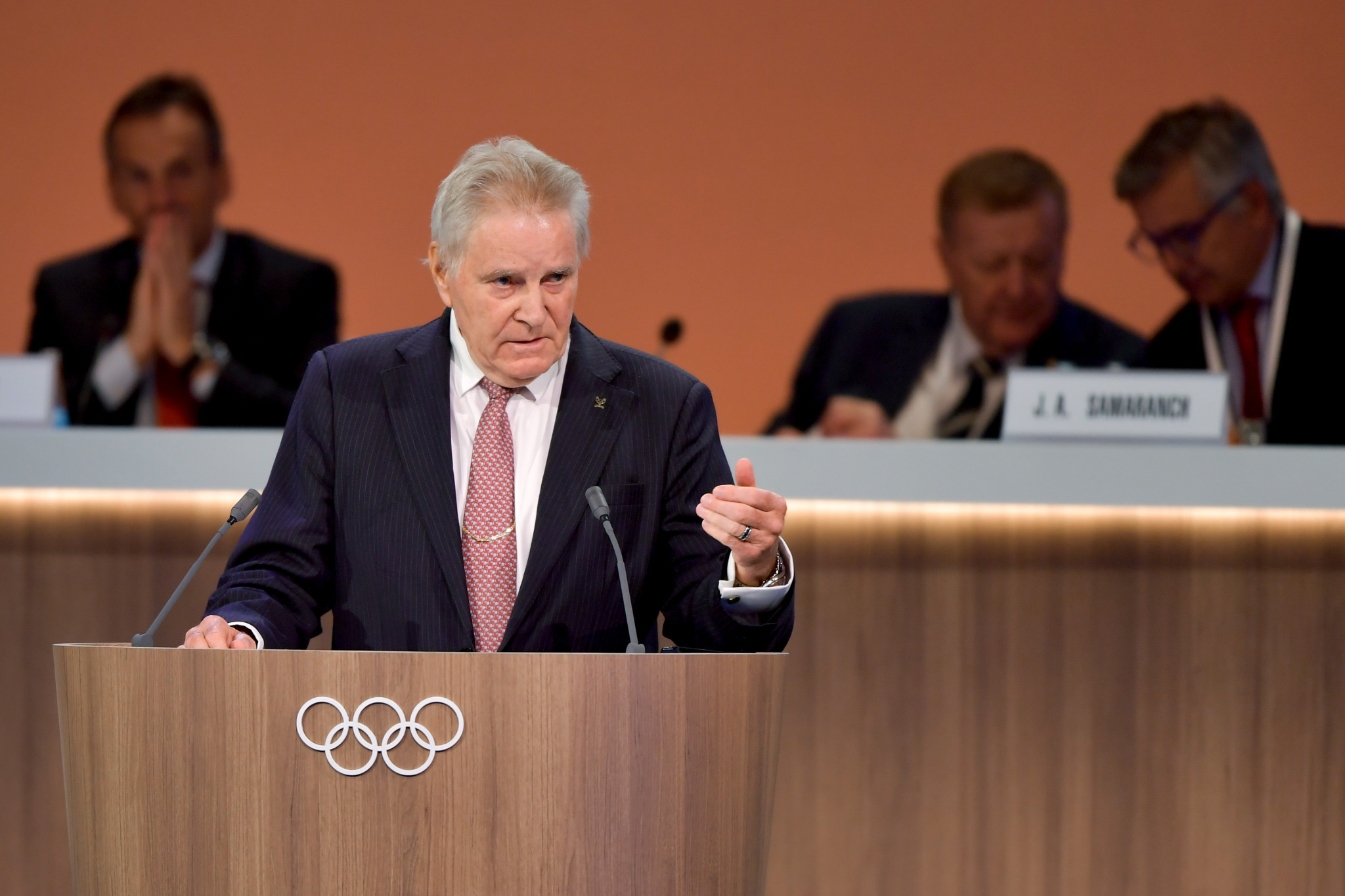 IOC Executive Board member Denis Oswald defended the work of his Commission during an update report to the Session last month ©Getty Images