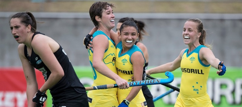 Australia win men's and women's titles at Oceania Cup