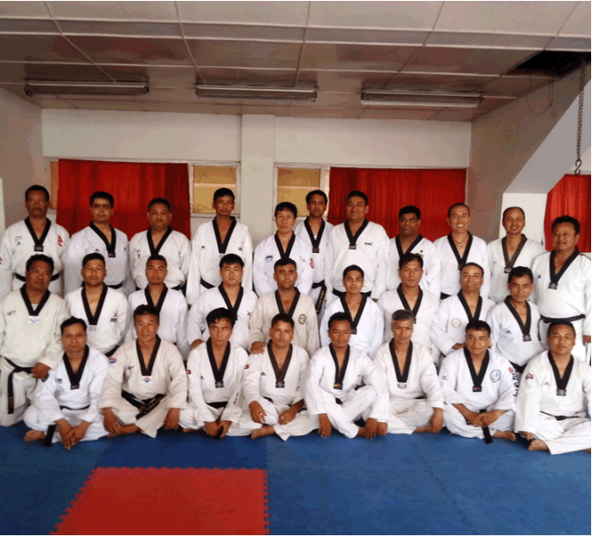 Taekwondo was introduced in Nepal as a martial arts discipline in 1983 ©NTA