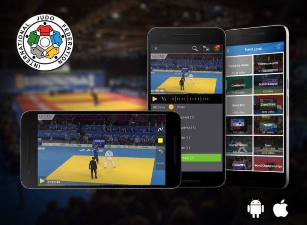 International Judo Federation launches free mobile application to showcase sport