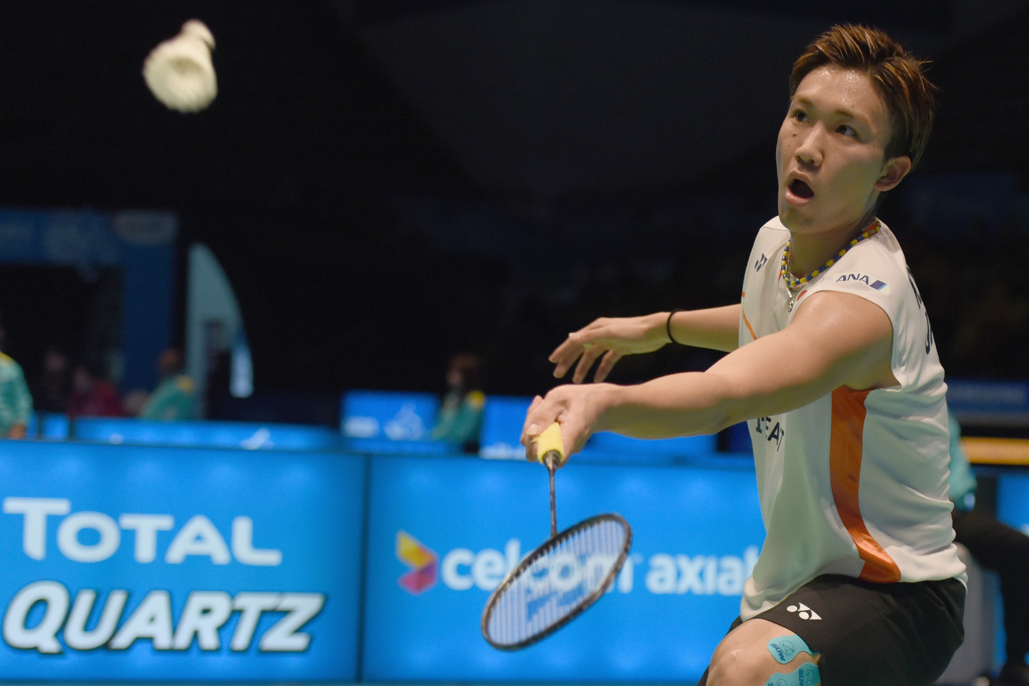 Momota wins all-Japanese men's singles final at BWF Dutch Open