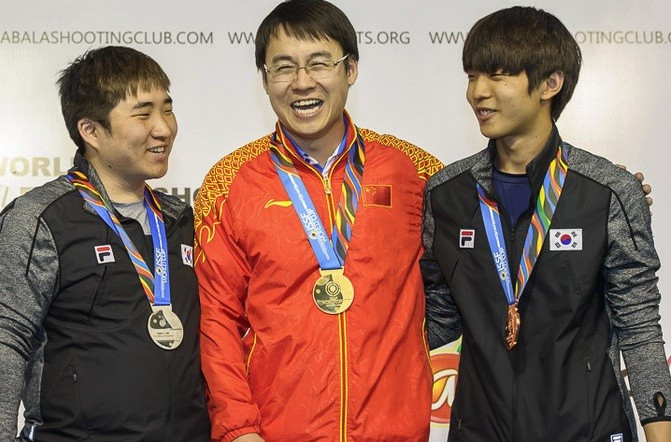 China at the double on fourth day of ISSF World Cup
