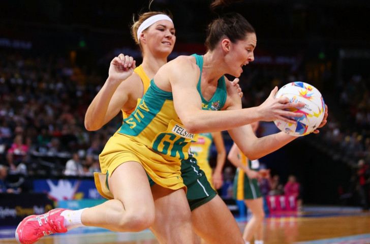 Hosts Australia breeze into semi-finals of Netball World Cup with crushing win over South Africa
