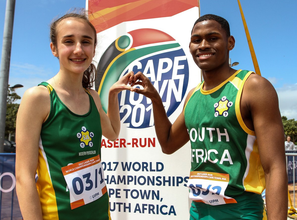 South Africa end UIPM Laser-Run World Championships in style with mixed relay victory