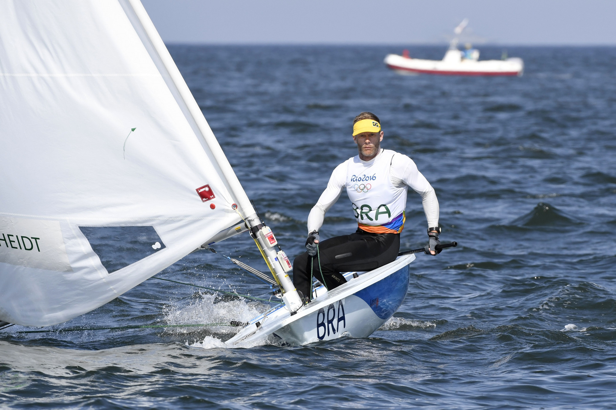 Brazilian sailing legend announces retirement from Olympic competition