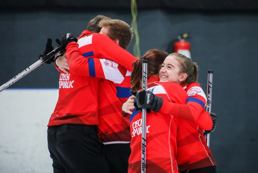 The Czech Republic were the biggest risers after winning bronze last week ©WCF