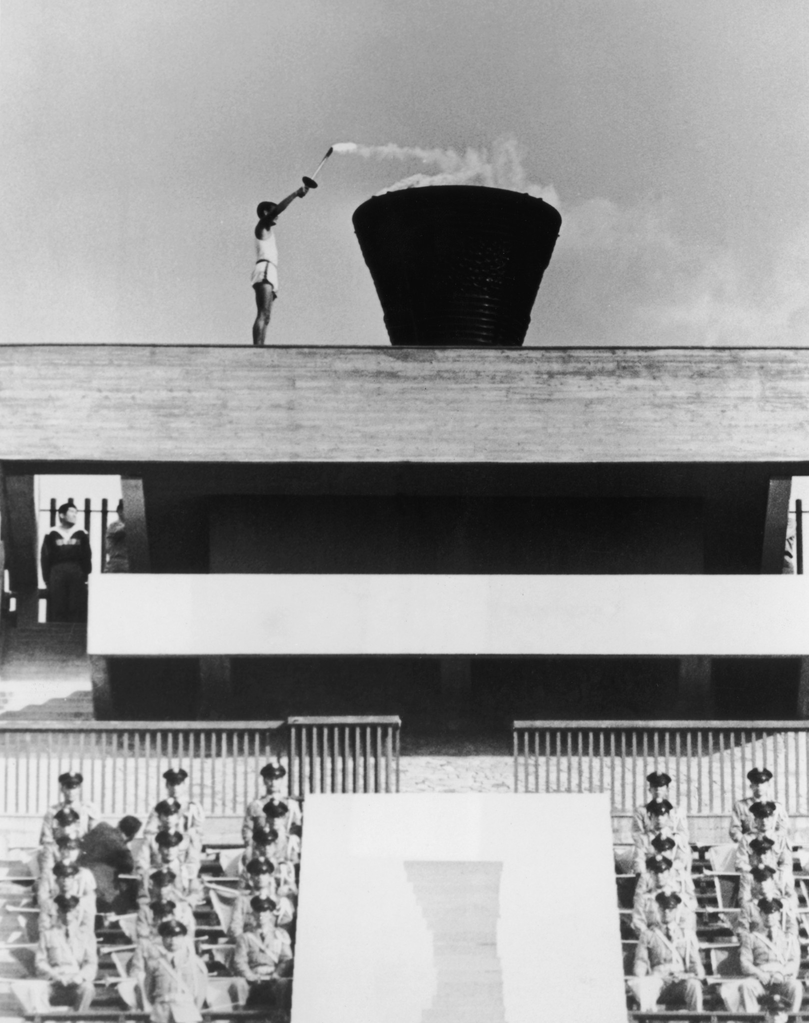 Eternal flame from Tokyo 1964 Olympics was relit four years ago