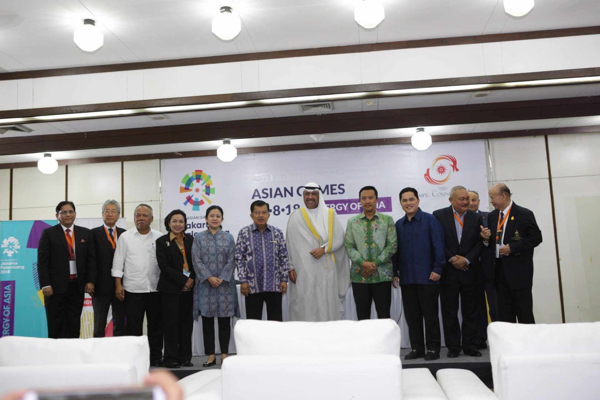 OCA and Jakarta 2018 sign marketing deal as three sponsors signed up for Asian Games