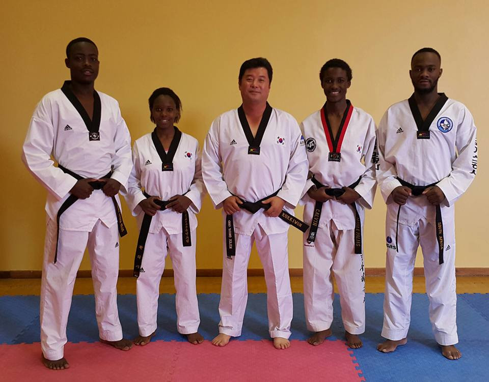 Taekwondo masters impart knowledge to South African youth