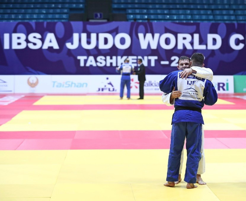 Hosts finish top of IBSA Judo World Cup standings in Tashkent