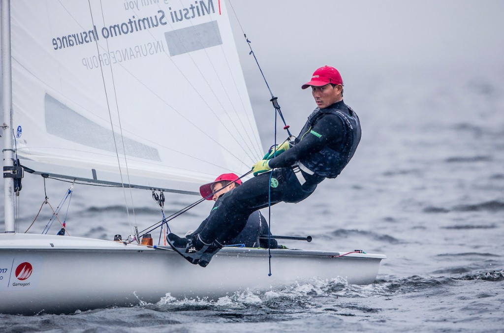 Japan will be hoping for medal success at the opening World Cup of the season ©World Sailing