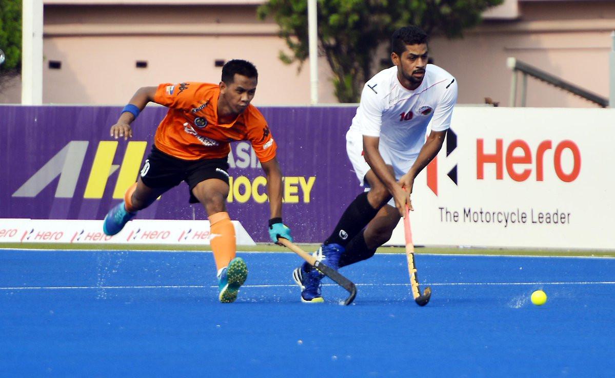 Malaysia defeated Oman 7-1 today ©Asian Hockey Federation