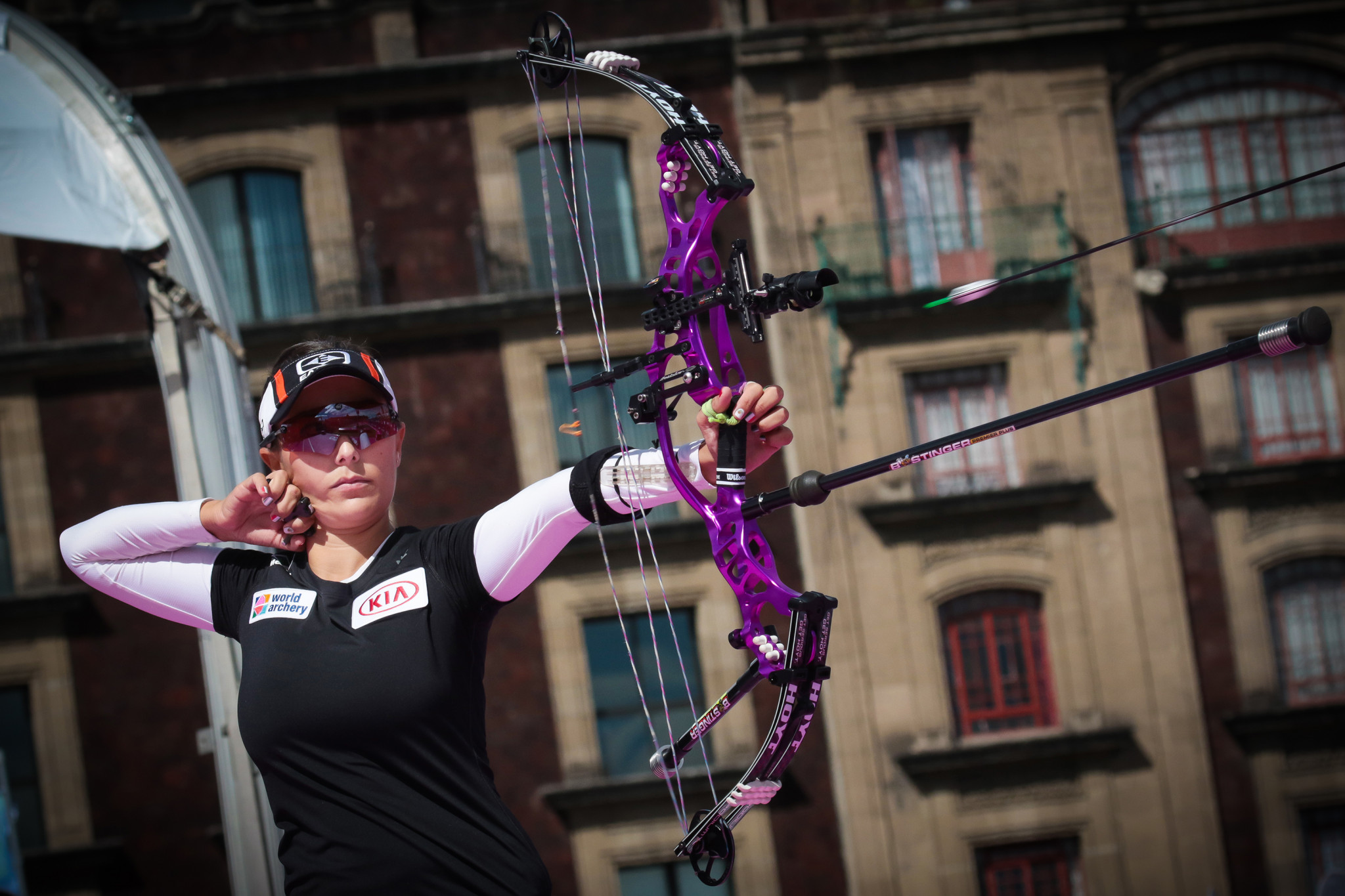 Ochoa-Anderson tops pile on home soil as World Archery Championships begin