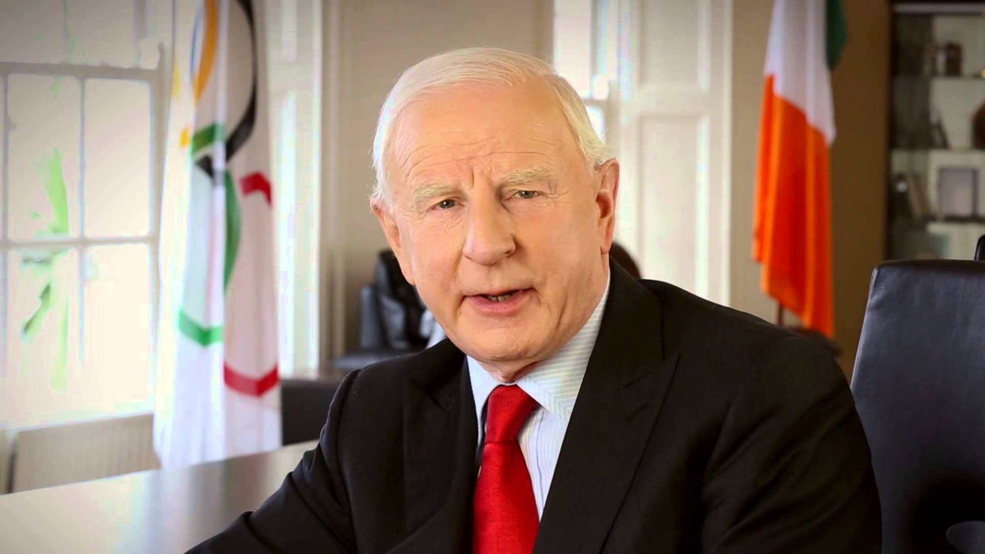 Former OCI President Patrick Hickey negotiated the deal without the approval of the Executive Board ©YouTube