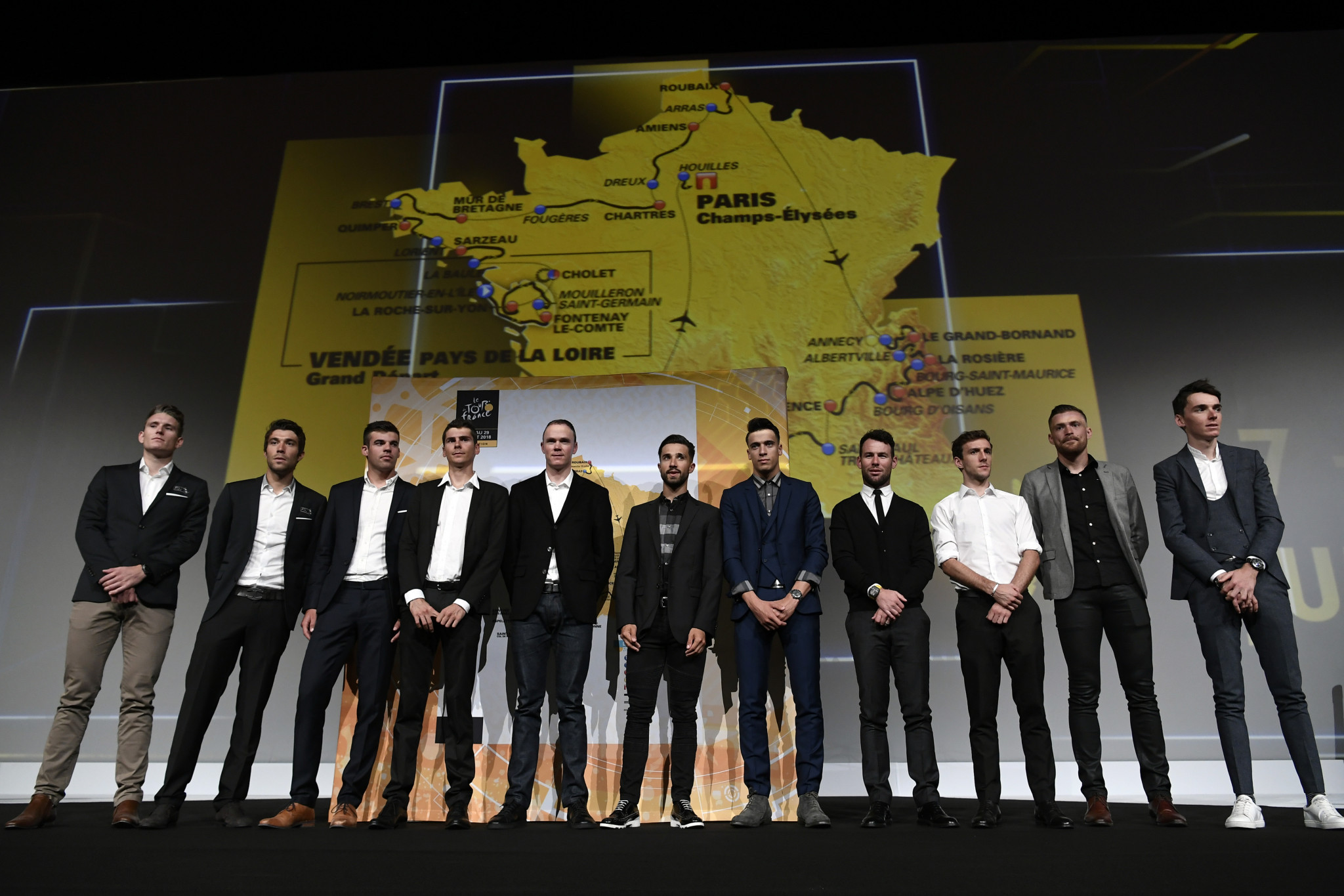 Route for 2018 Tour de France revealed