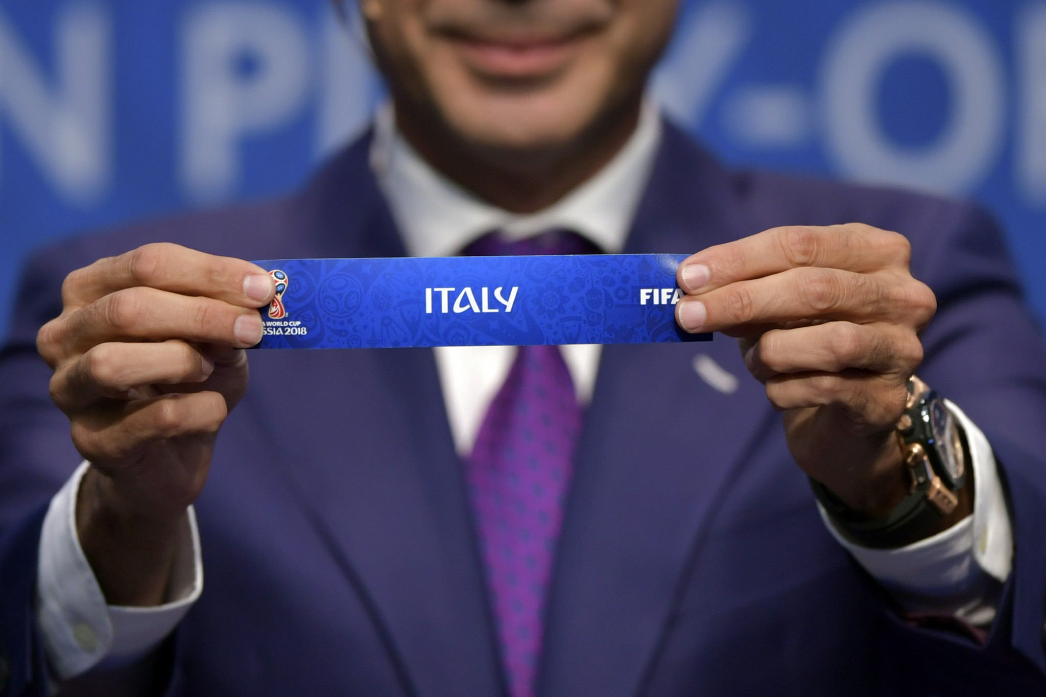 Former champions Italy to play Sweden for place at 2018 FIFA World Cup