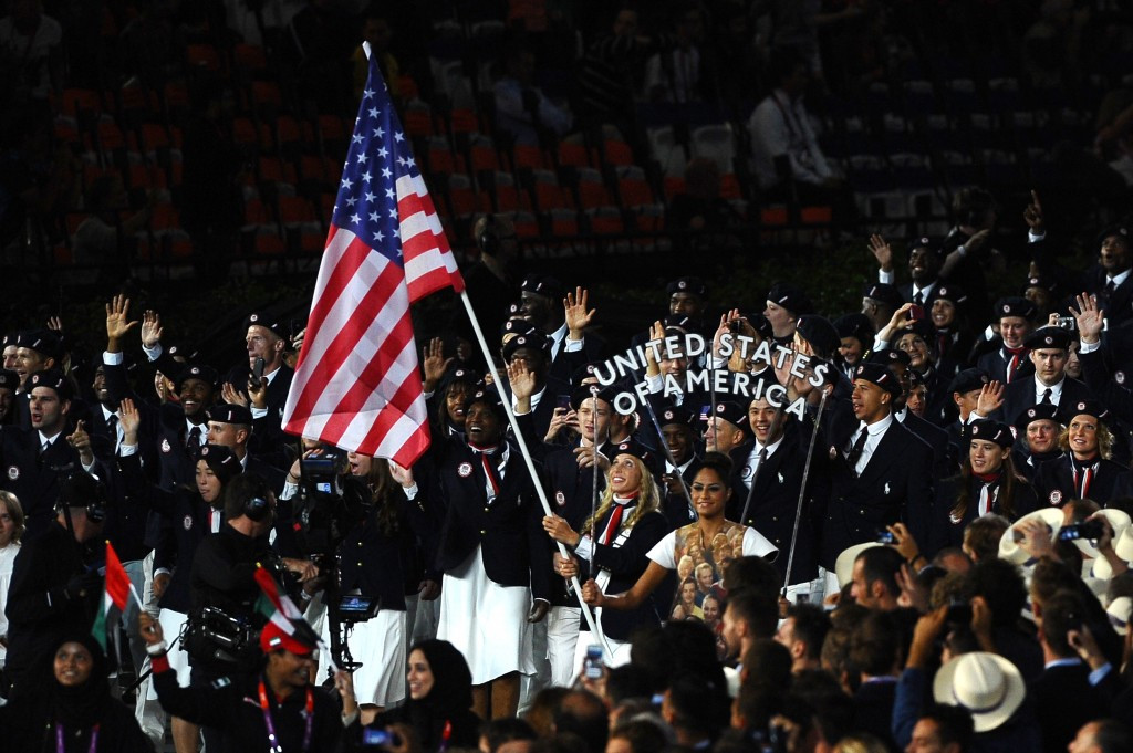 US predicted to finish top of medals table at Rio 2016 but Britain set to miss target badly