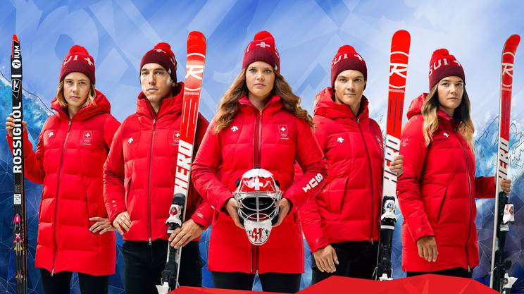 Swiss reveal uniform for Pyeongchang 2018