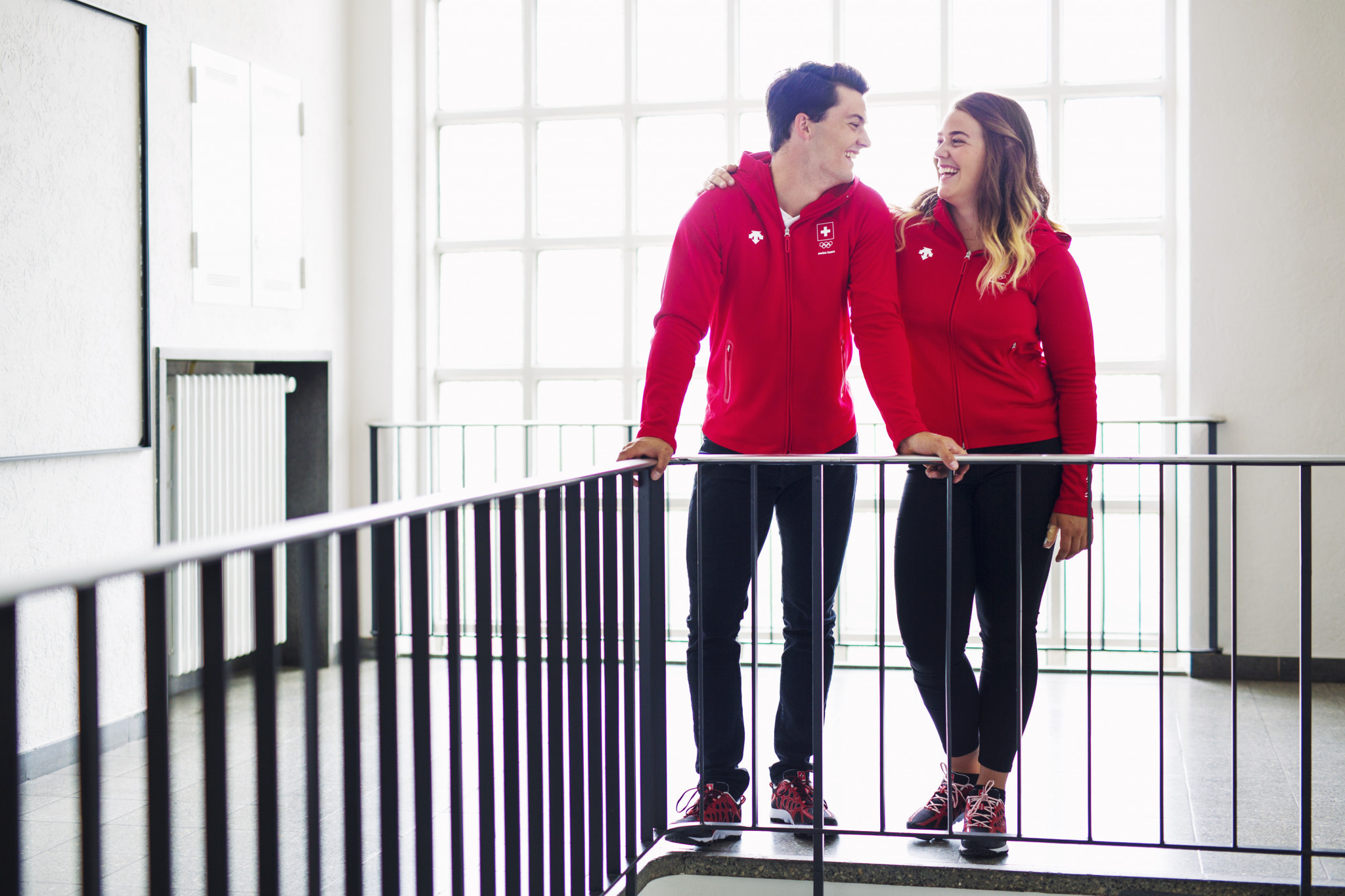 Clothing has been designed for all Games-time activities ©Swiss Olympic