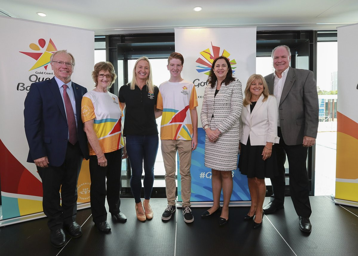Gold Coast 2018 select list of Batonbearers for Australian leg of Queen's Baton Relay