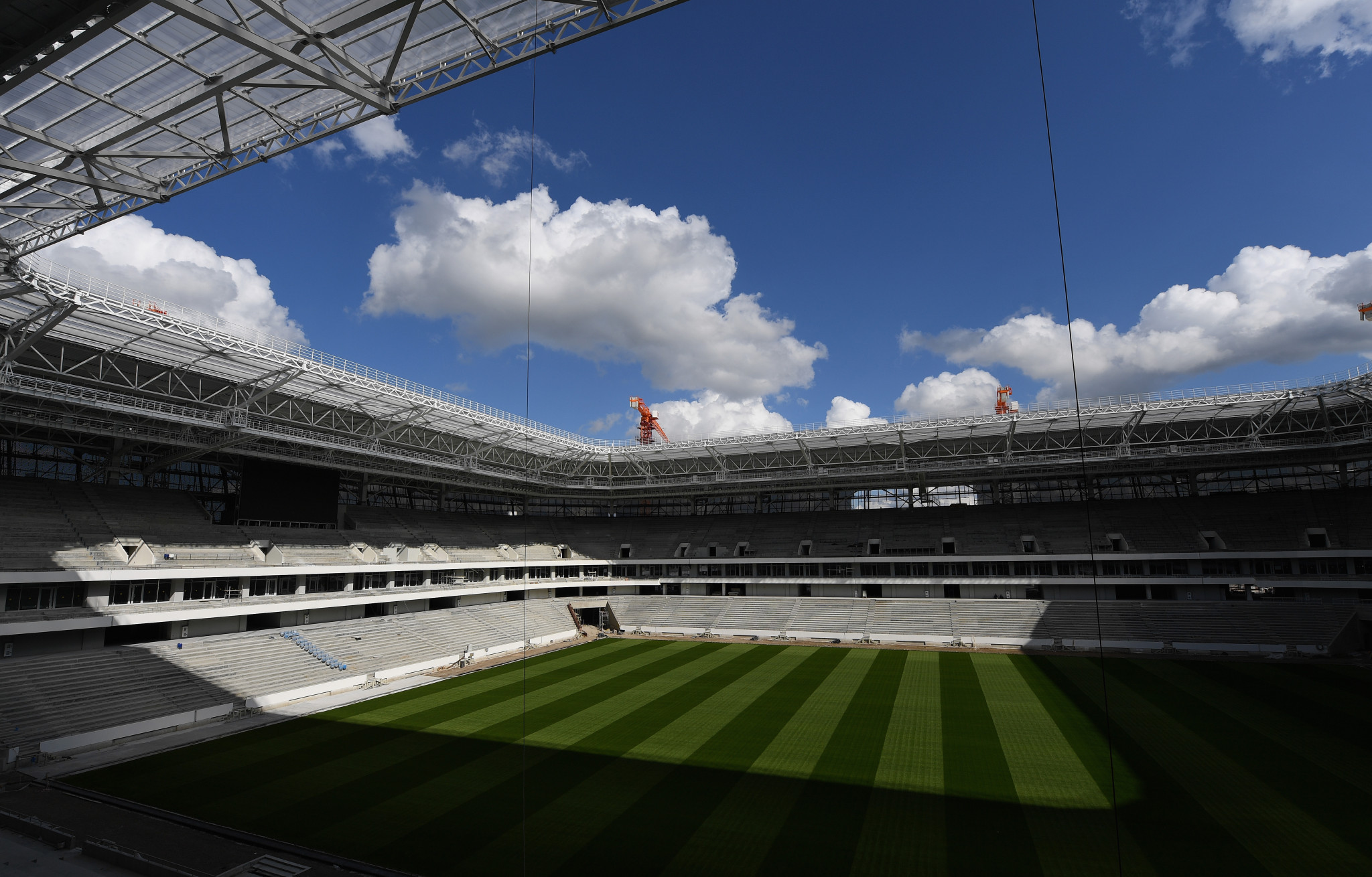 A view of the Kaliningrad Stadium taken last month ©Getty Images