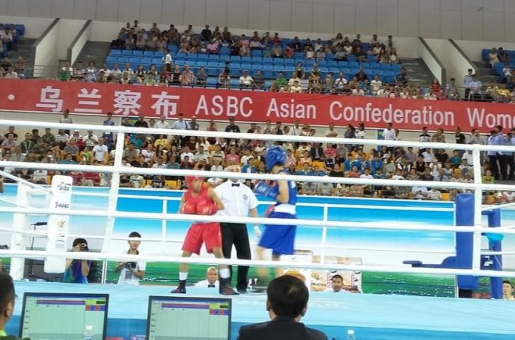 Ismatova shocks heavyweight favourite to reach final of Asian Confederation Women's Continental Championships