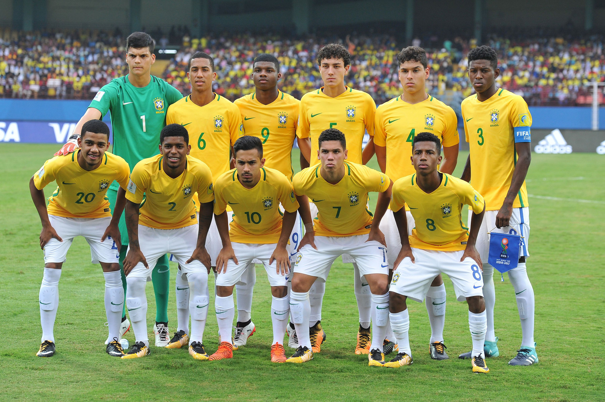 Brazil and Ghana reach the last eight of FIFA Under-17 World Cup