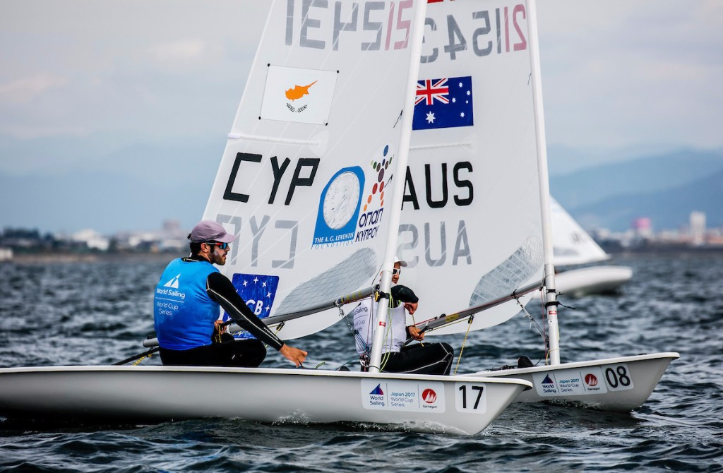 Kontides moves clear of laser field at Sailing World Cup in Gamagori
