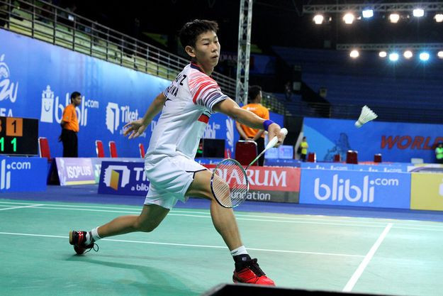 Third seed Chia stunned by Zhengze in men's singles at BWF World Junior Championships