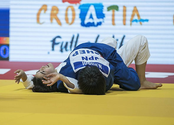 Two gold medals for Japan on opening day of IJF Junior World Championships