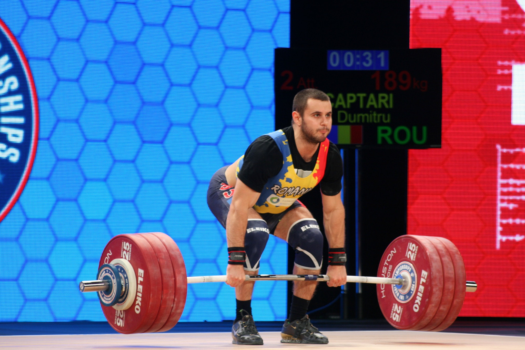 Weightlifting legend Vlad hoping long wait for world gold will end for resurgent Romania