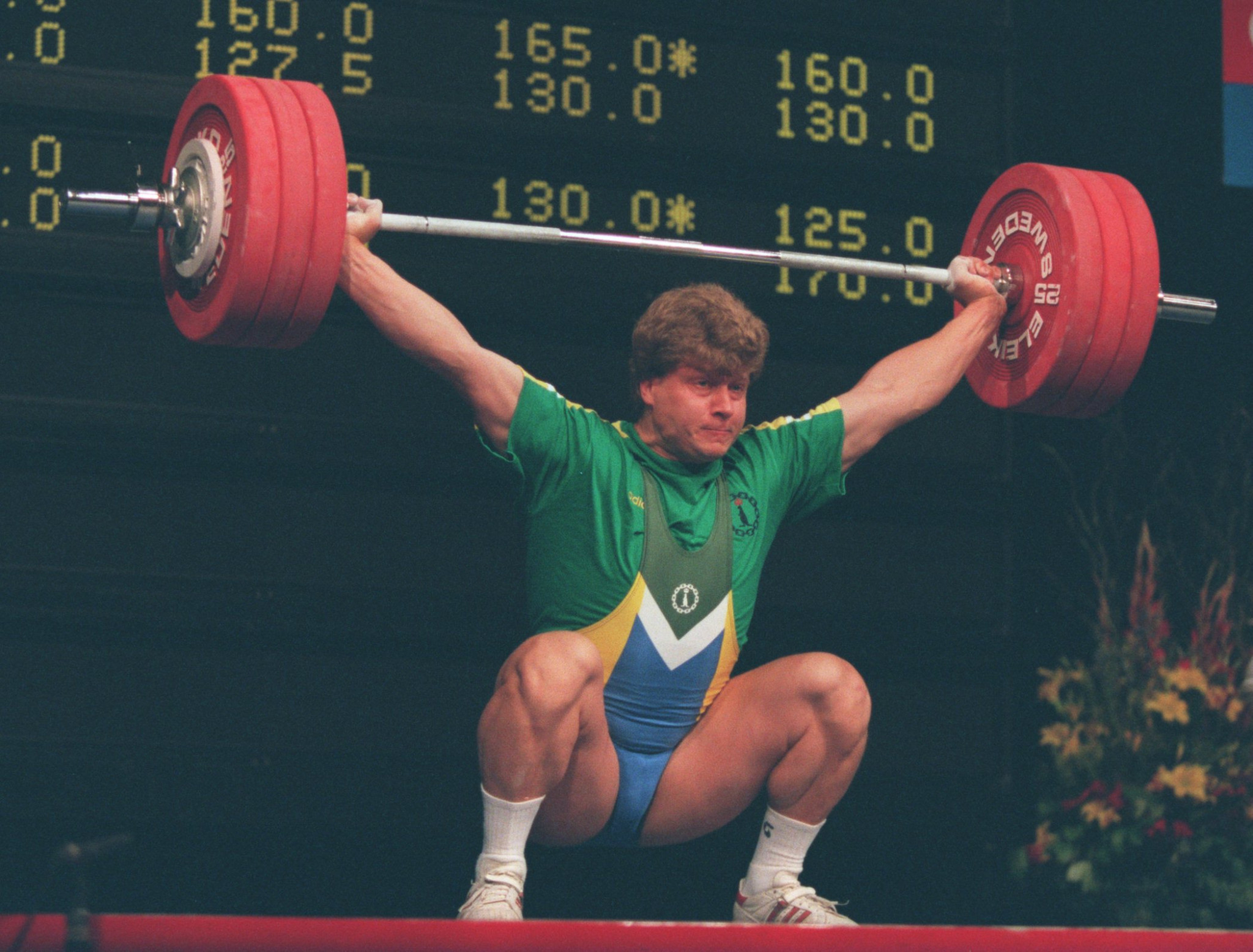 Nicu Vlad is the most famous name in Romanian weightlifting ©Getty Images