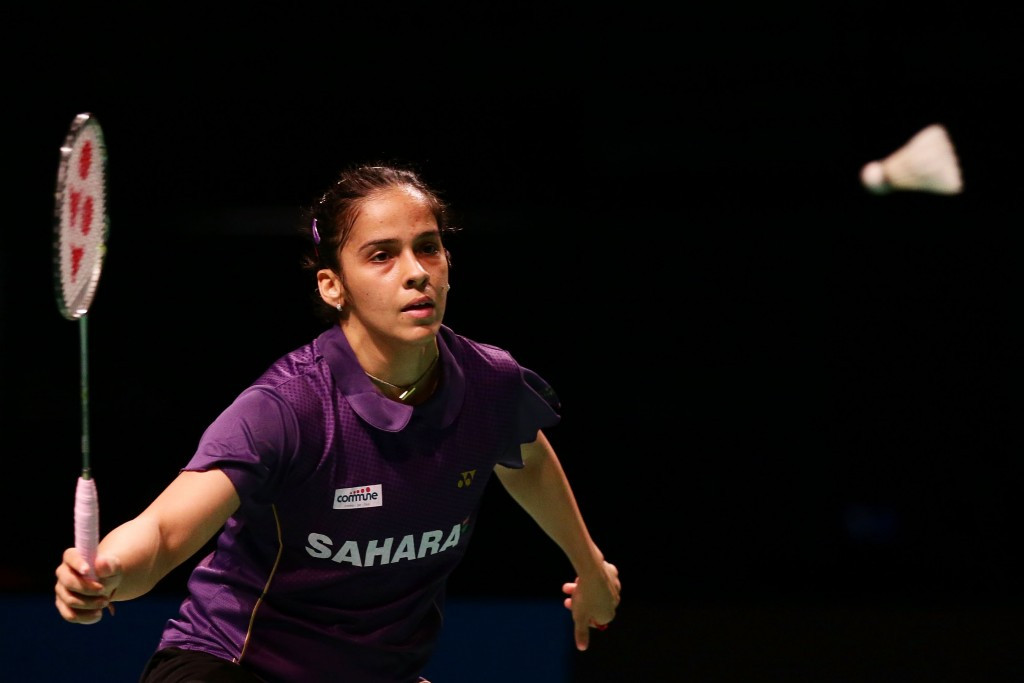 Indian number two seed Saina Nehwal breezed to a comfortable victory over Ozge Bayrank