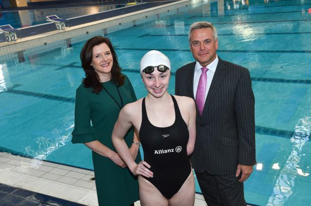 Allianz announced as title sponsor of 2018 World Para Swimming European Championships