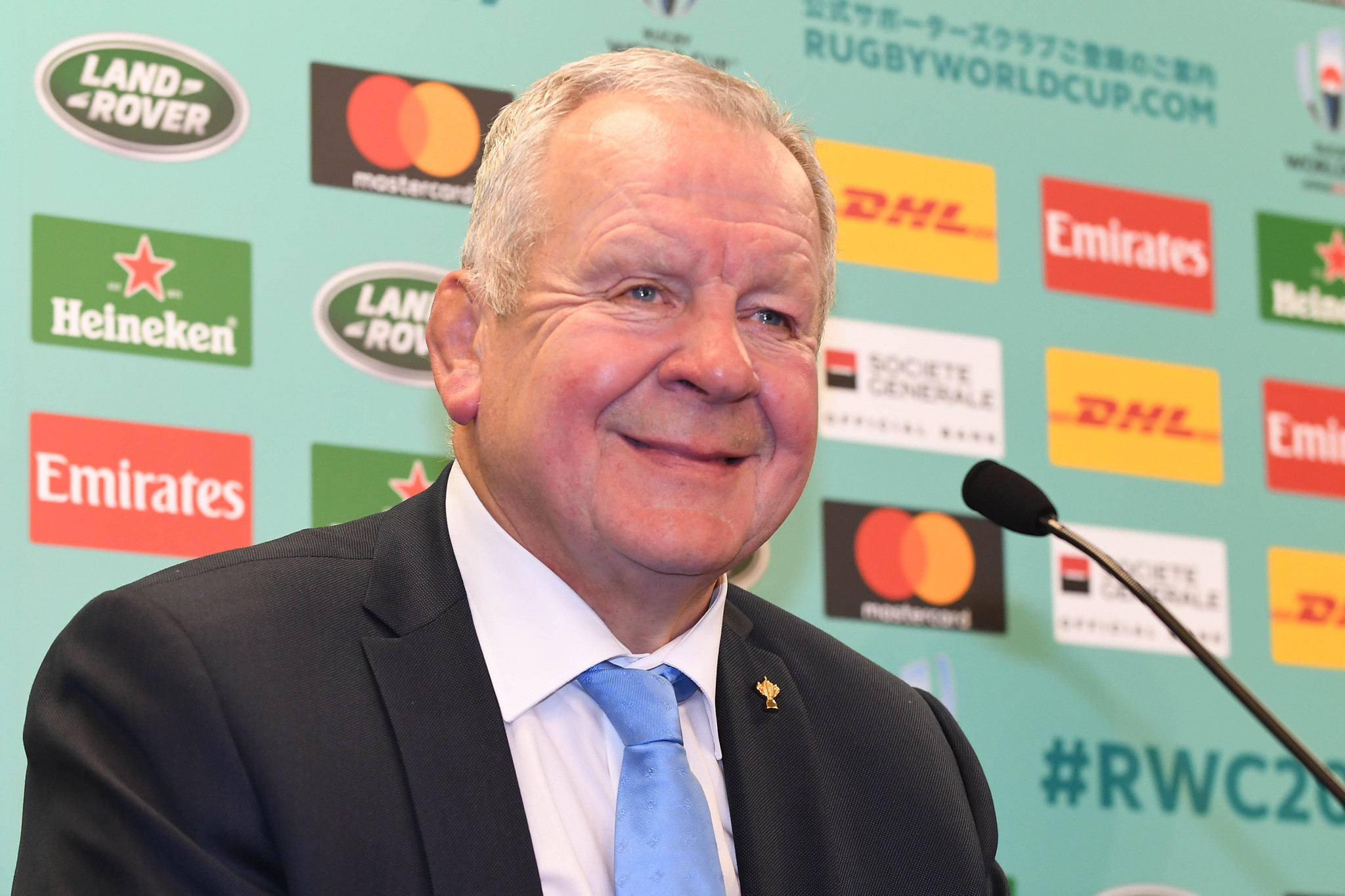 "World Rugby chairman Bill Beaumont says the sport continues to ""experience record global participation growth"" ©Getty Images"