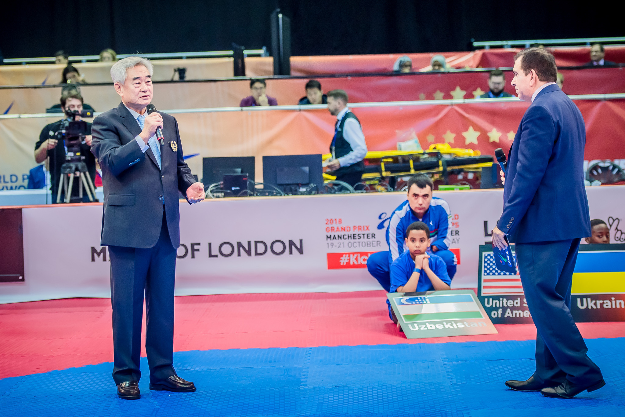 The Opening Ceremony took place earlier in the day with World Taekwondo President Chungwon Choue delivering a speech ©World Taekwondo
