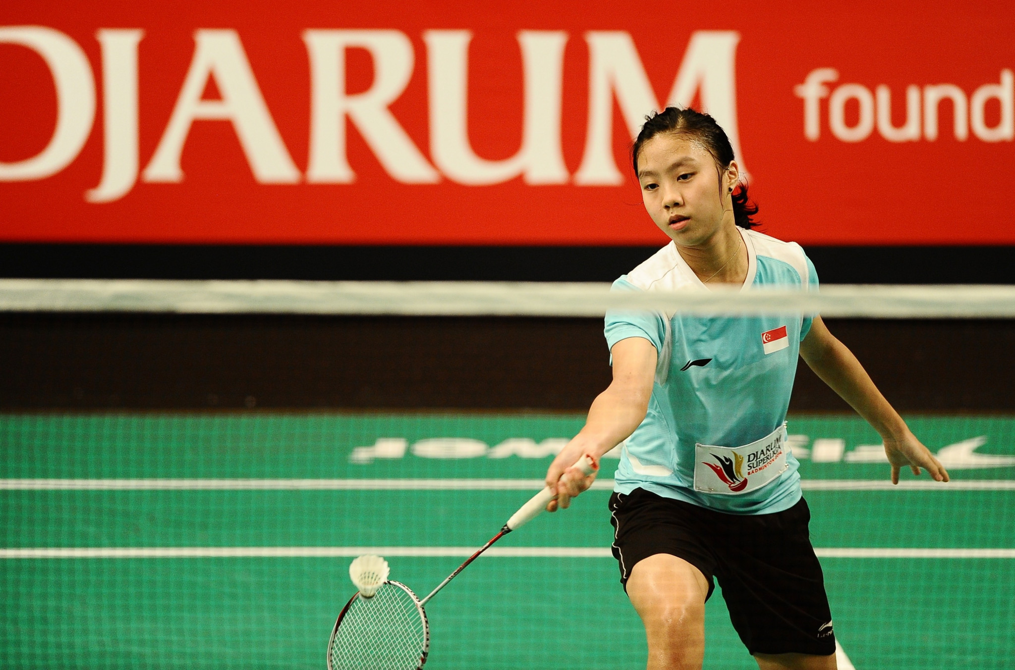 Zhou upsets second seed in women's singles event at BWF World Junior Championships