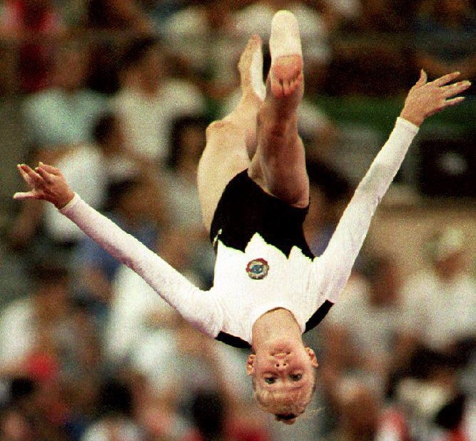 Tatiana Gutsu won the all-around title at the Barcelona 1992 Olympics ©Getty Images