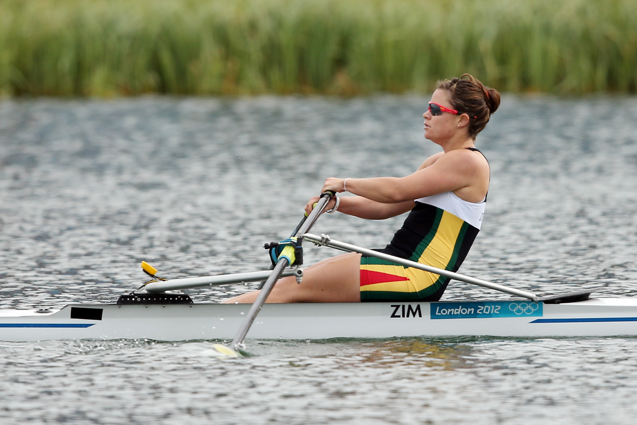 Olympian Micheen Thornycroft is set to lead the Zimbabwean team for the first time at a major event ©Getty Images