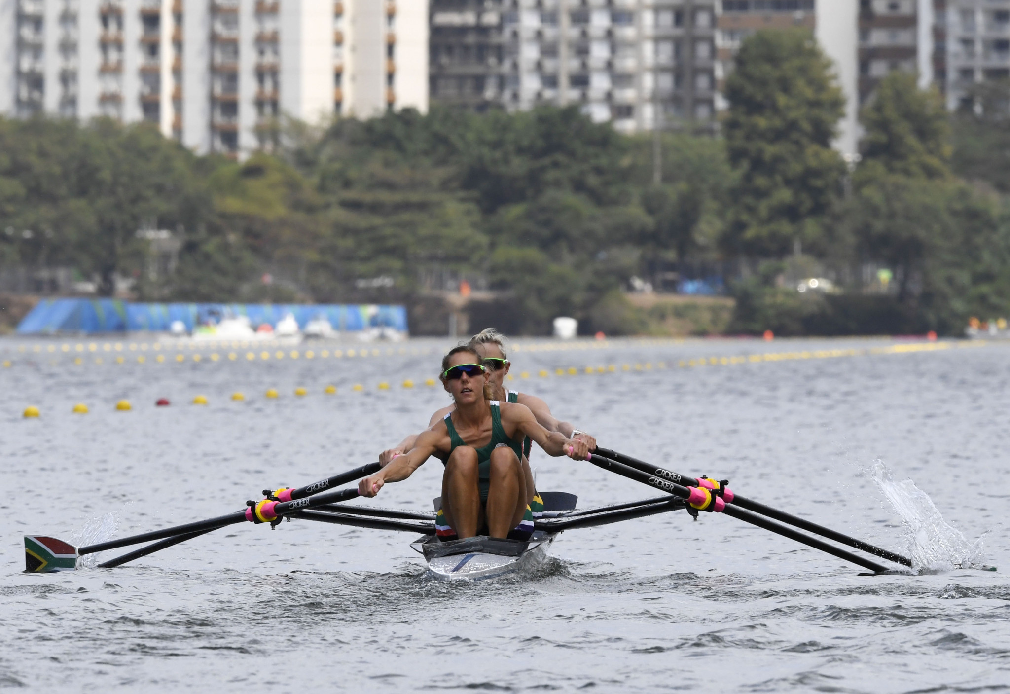 African rowing at an all-time high after Kirsten McCann became the first South African woman to win a gold medal at the recent World Championships in Sarasota ©Getty Images