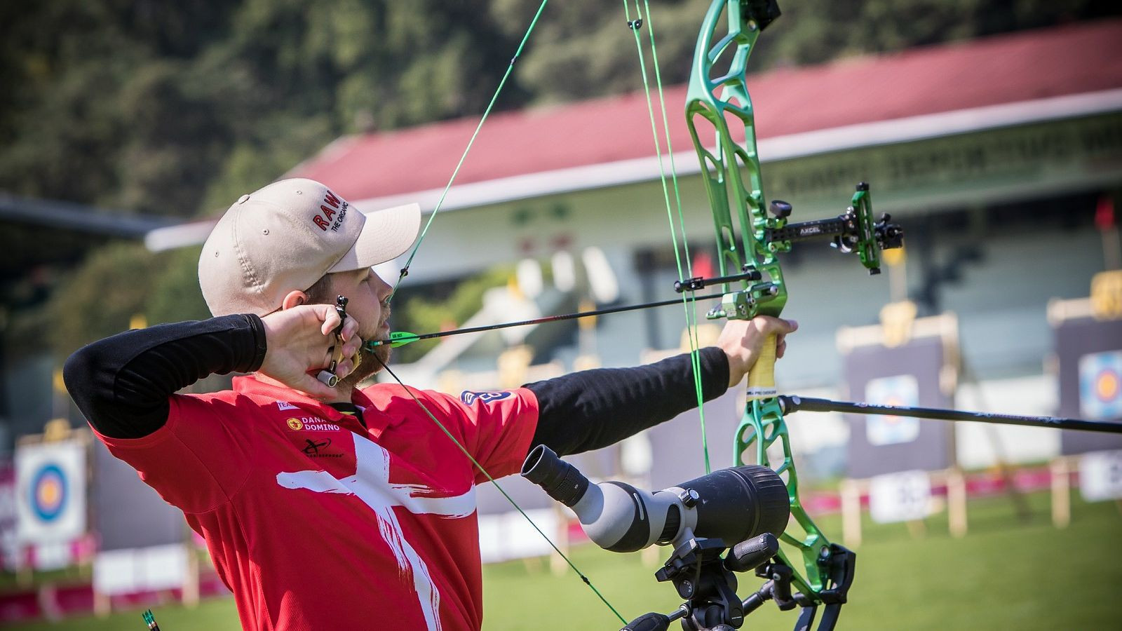 Denmark's Stephan Hansen will have the opportunity to seal the defence of his men's compound global crown on Saturday (October 21) ©World Archery