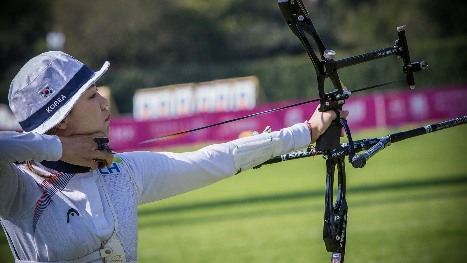 Olympic champion Chang Hye-jin of South Korea is through to the women's recurve final ©World Archery