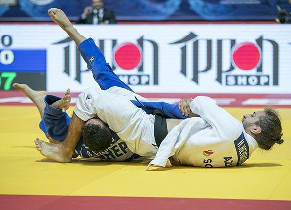 Azerbaijan's Hidayat Heydarov came away with the men's under 73kg crown ©IJF