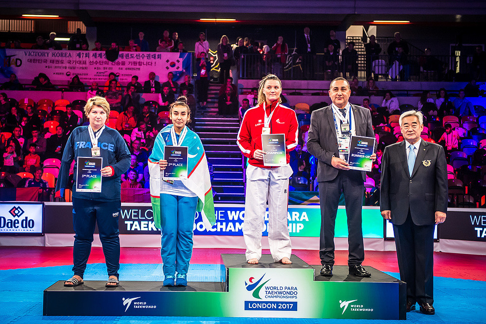 Amy Truesdale delighted the British crowd by claiming the women's K44 over 58 kilograms title at the 2017 World Para-Taekwondo Championships in London ©World Taekwondo